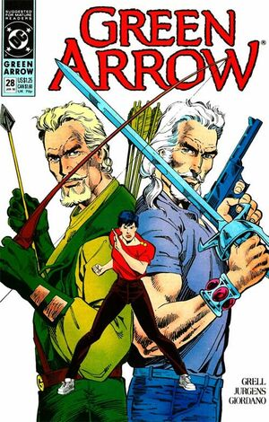 Cover for Green Arrow #28