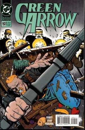 Cover for Green Arrow #92