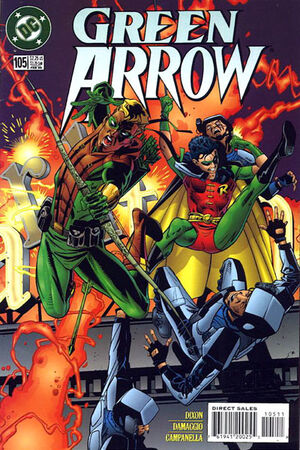 Cover for Green Arrow #105