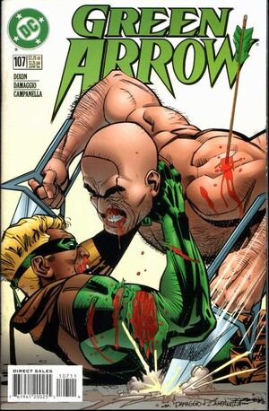 Cover for Green Arrow #107