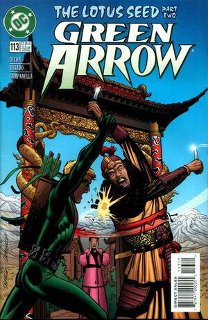 Cover for Green Arrow #113