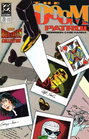 Cover for Doom Patrol #23