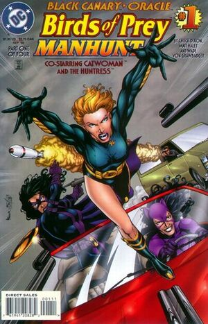 Cover for Birds of Prey: Manhunt #1