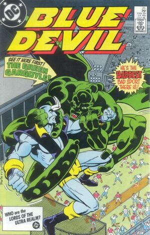 Cover for Blue Devil #26