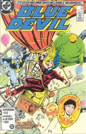 Cover for Blue Devil #28