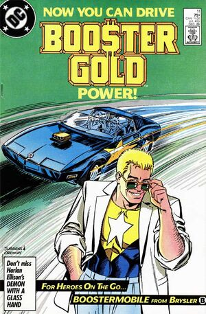 Cover for Booster Gold #11