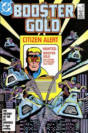 Cover for Booster Gold #14