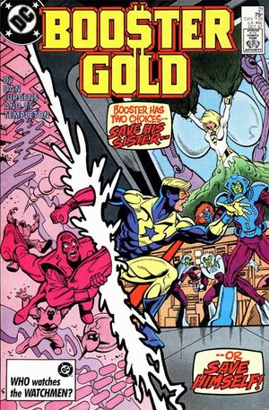 Cover for Booster Gold #21