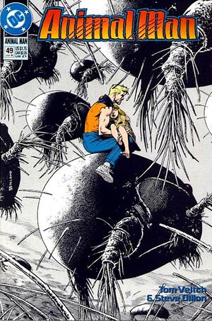 Cover for Animal Man #49