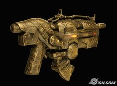 Gold plated hammerburst