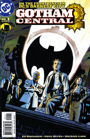 Cover for Gotham Central #1