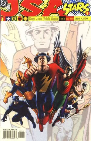 Cover for JSA: All Stars #1