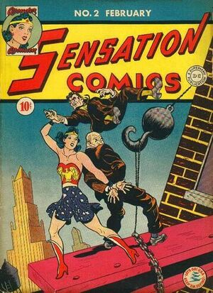 Cover for Sensation Comics #2