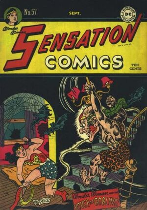 Cover for Sensation Comics #57