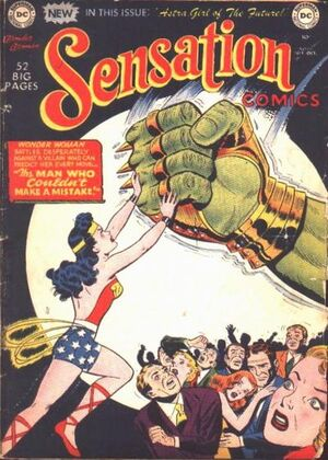 Cover for Sensation Comics #99