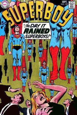 Cover for Superboy #159