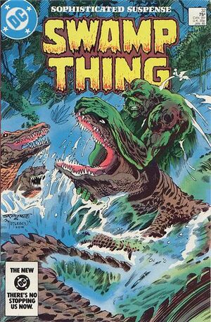Cover for Swamp Thing #32
