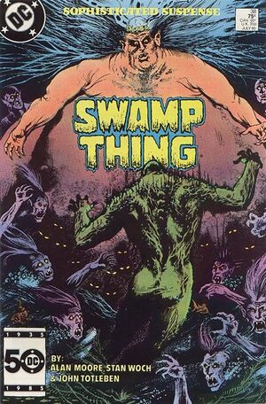 Cover for Swamp Thing #38