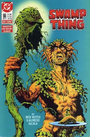Cover for Swamp Thing #66