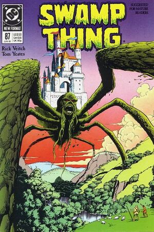 Cover for Swamp Thing #87