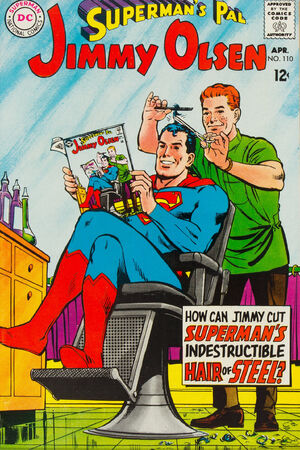 Cover for Superman's Pal, Jimmy Olsen #110