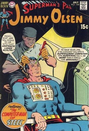Cover for Superman's Pal, Jimmy Olsen #130