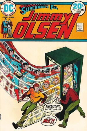 Cover for Superman&#39;s Pal, Jimmy Olsen #162