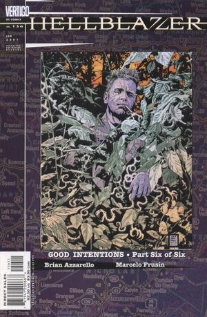 Cover for Hellblazer #156