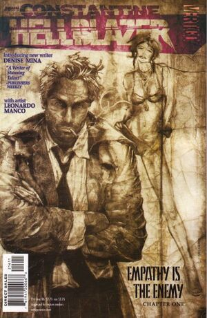 Cover for Hellblazer #216