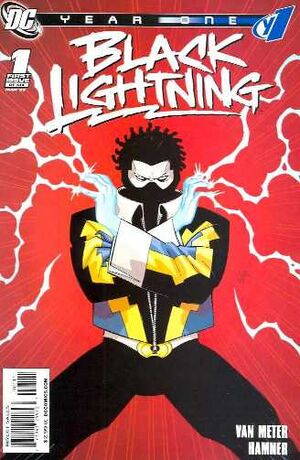 Cover for Black Lightning: Year One #1