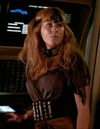 Khan's female henchmen, Pam Bennett