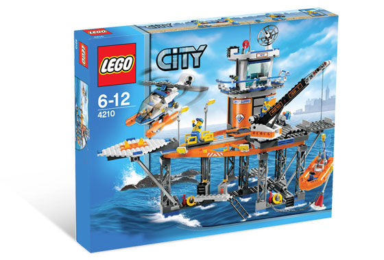Lego City 4210 Coast Guard Platform.