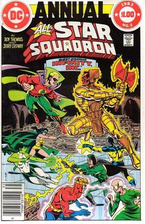 Cover for All-Star Squadron #Annual 2
