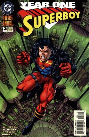 Cover for Superboy Annual #2