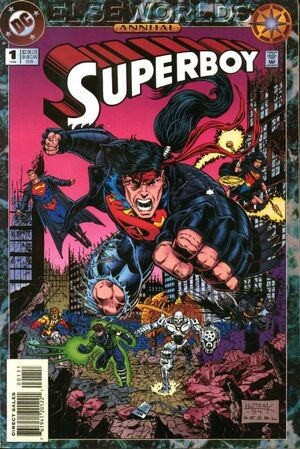Cover for Superboy Annual #1