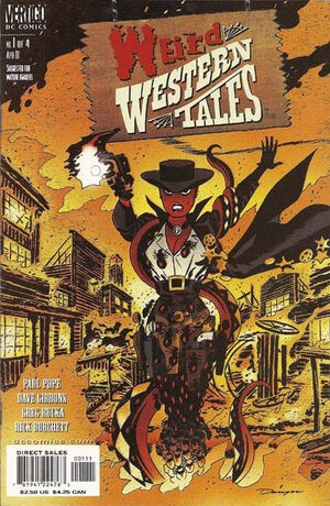 Cover for Weird Western Tales #1