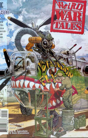 Cover for Weird War Tales #2