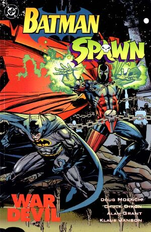 Cover for Batman/Spawn: War Devil #{{{Issue}}}