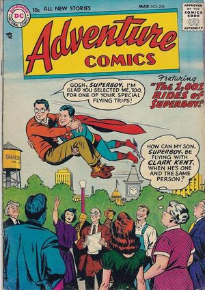 Cover for Adventure Comics #234