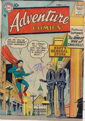 Cover for Adventure Comics #237
