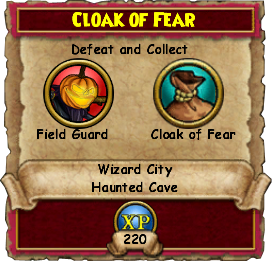 Cloak Of Fear
