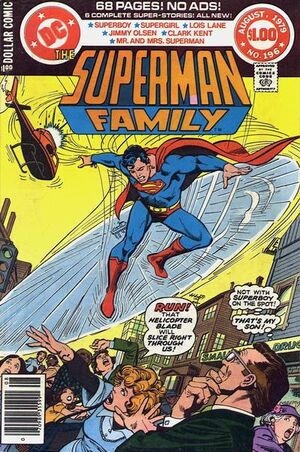 Cover for Superman Family #196
