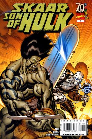 Skaar - Son of Hulk  300px-Skaar_Son_of_Hulk_Vol_1_7