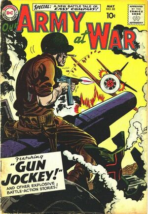 Cover for Our Army at War #82