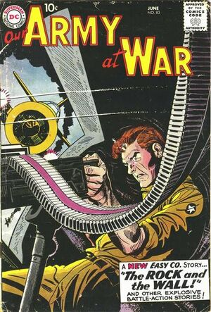 Cover for Our Army at War #83