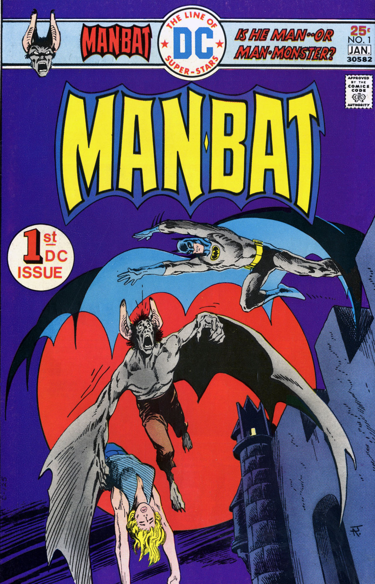 Cover for Man-Bat #1