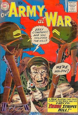 Cover for Our Army at War #90