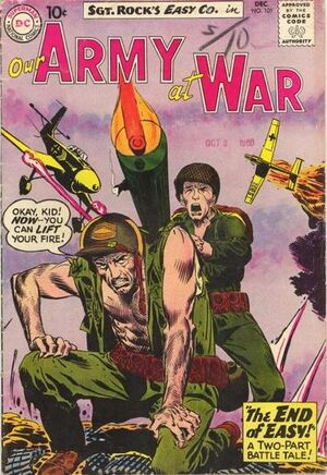 Cover for Our Army at War #101