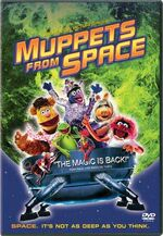 Muppets From Space DVD - Green Moon