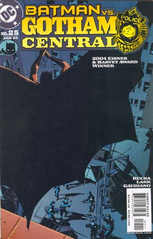 Cover for Gotham Central #25